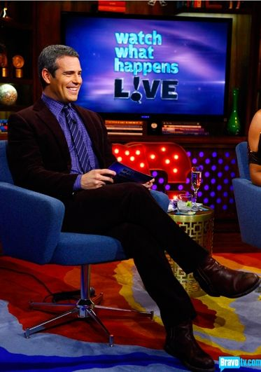 Andy Cohen and Watch What Happens Live on Bravo (5 nights a week!)