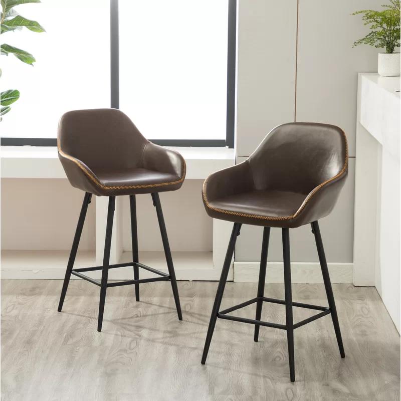 Modern Rustic Interiors Willow Bar Counter Stool Reviews Wayfair Counter Stools Bar Stools Furniture