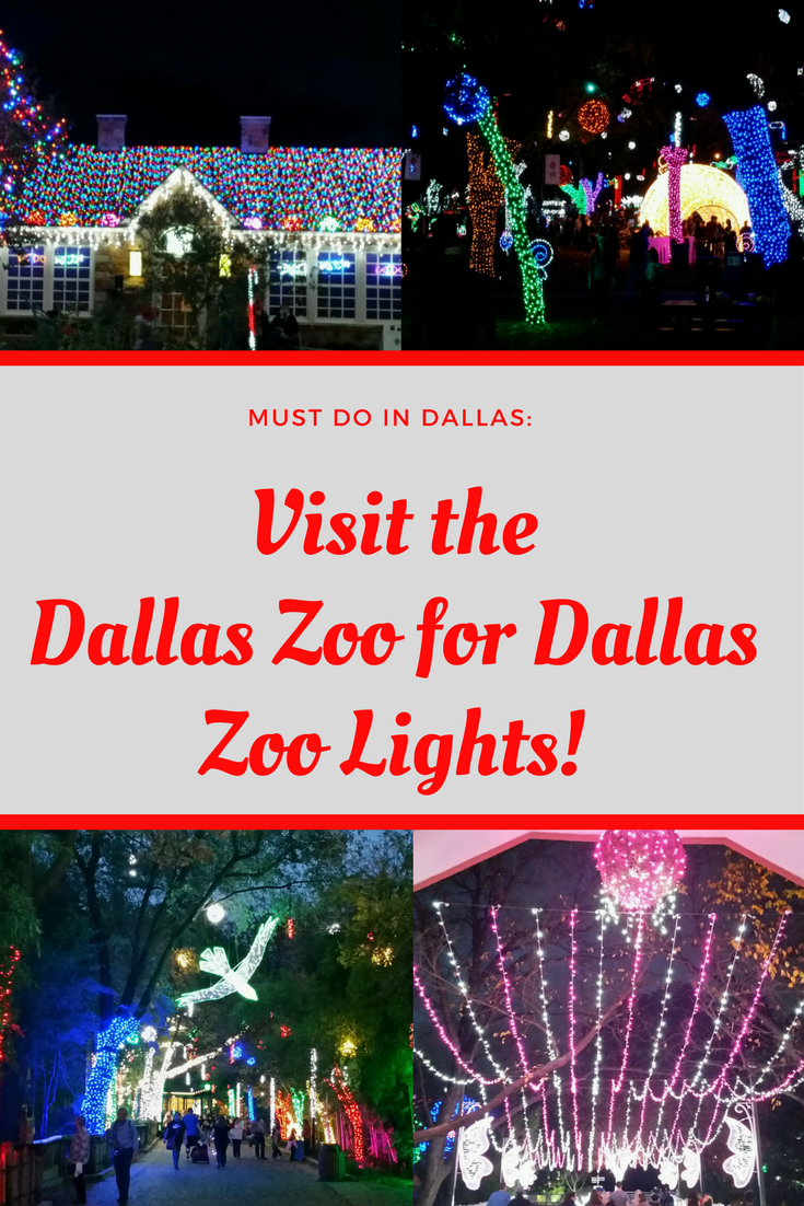 Visit The Dallas Zoo This December For Dallas Zoo Lights My Beauty