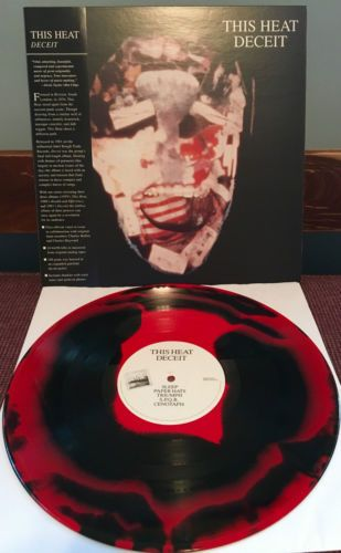 This Heat Deceit Lp Red Black Colored Vinyl Ltd 300 Vinyl Vinyl Records Black And Red