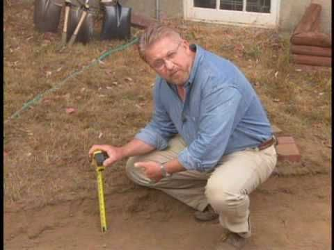 How to Lay Patio Pavers YouTube Earth Pinterest Cortili