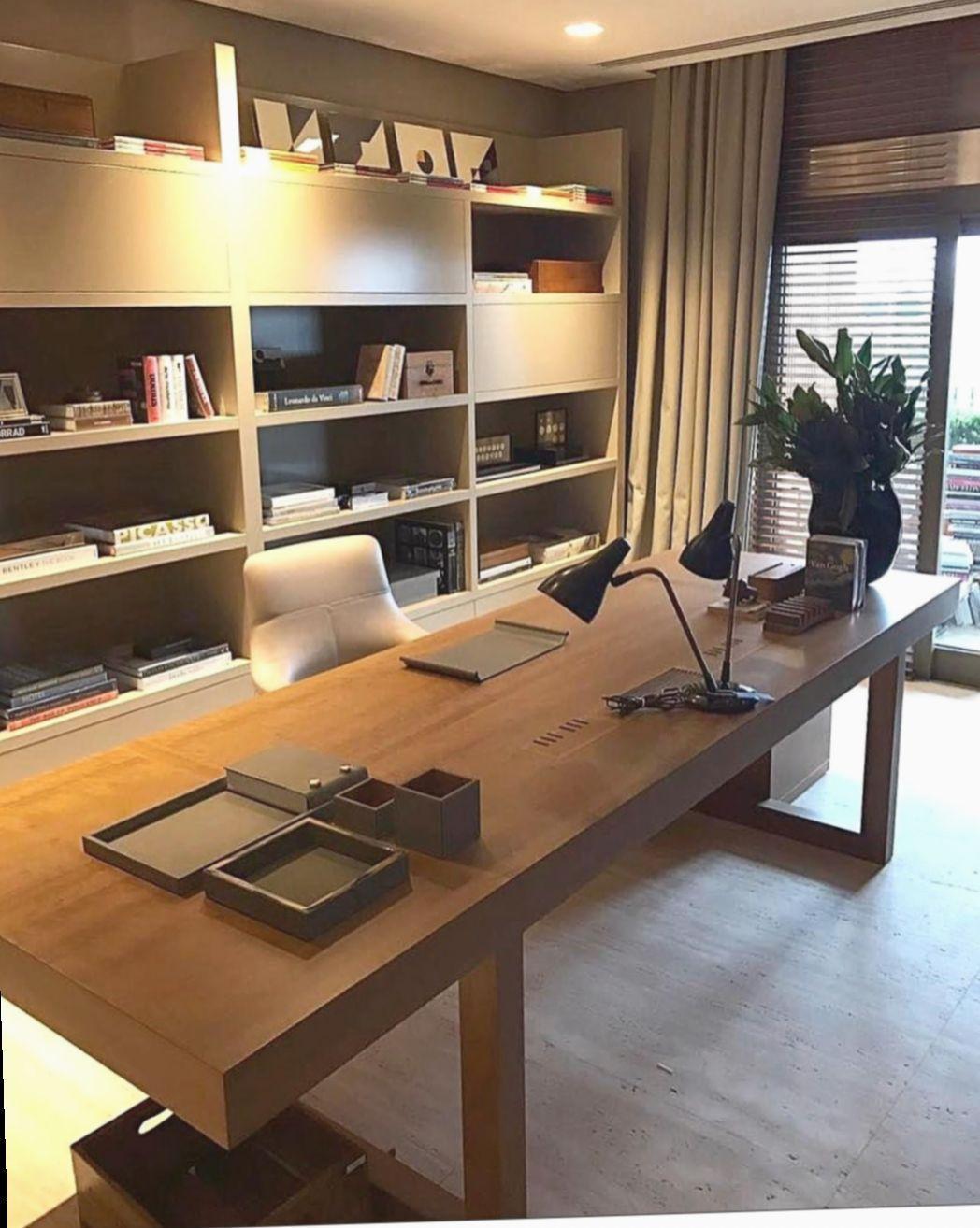✓ Office Desk Workspaces Professional #productivespaces