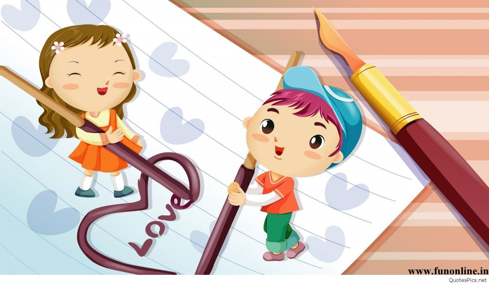 love animated couple wallpapers cartoons hd | 3d wallpapers