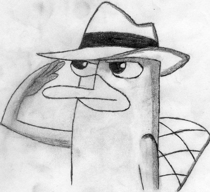 Perry el Ornitorrinco - Phineas and Ferb   disney   Pinterest ...