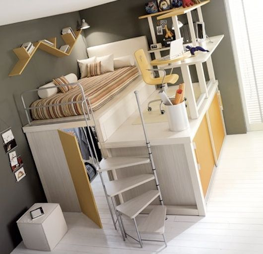 Live in a small space? No problem! Bedroom, closet, office ...