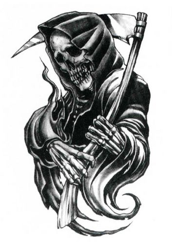 Download Free Grim Reaper Tattoos 48 Horrifying Grim Reaper Tattoo