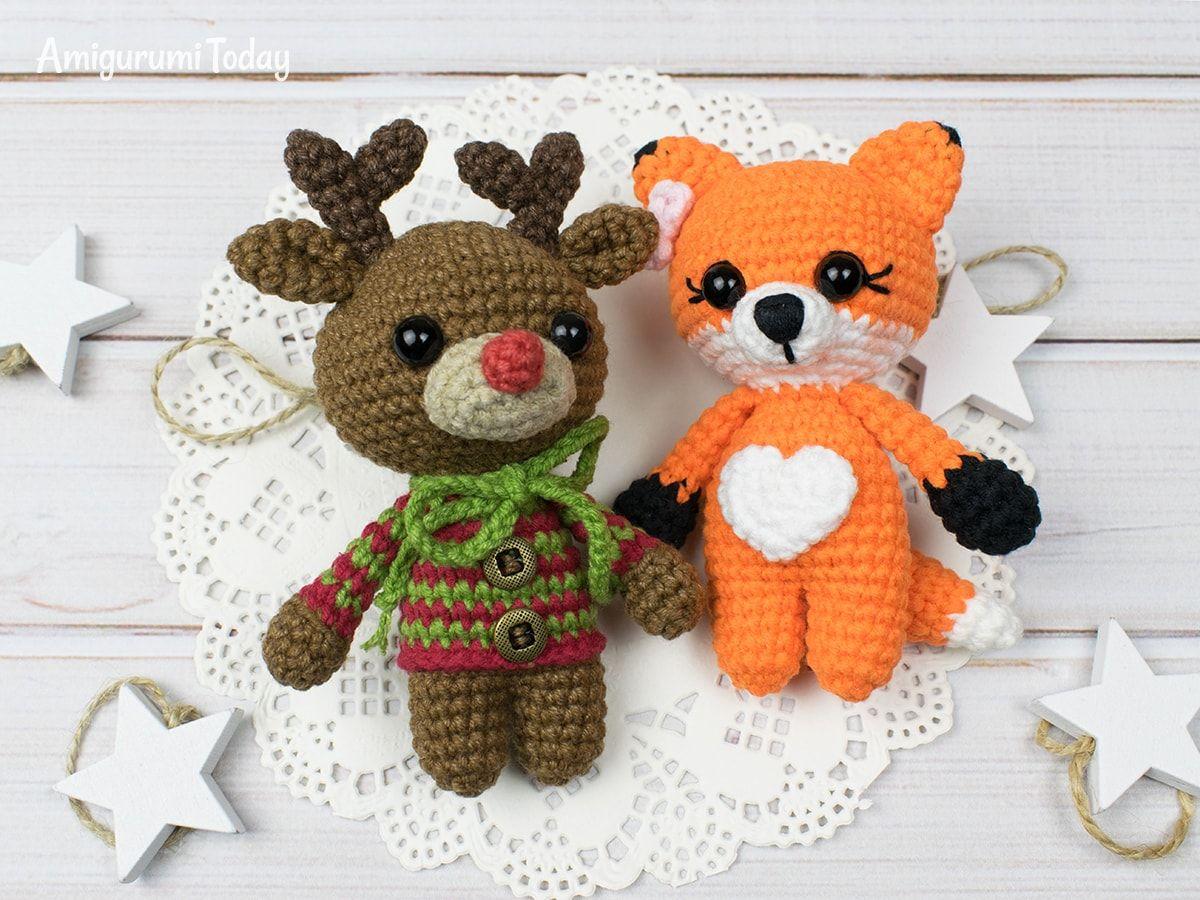 Tiny Deer Amigurumi Pattern Amigurumi Crochet Crochet Patterns