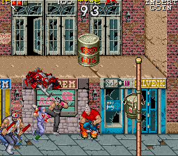 Ninja Gaiden Screenshot Attacked From All Sides Ninja Gaiden Arcade Ninja