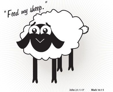 Feed My Sheep Printable And Activity Primary 7 Lesson 34 Feed My