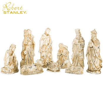 Large 3 Piece Indoor Outdoor Nativity Scene Set Resin 36 New Outdoor Nativity Scene Nativity Scene Sets Outdoor Nativity