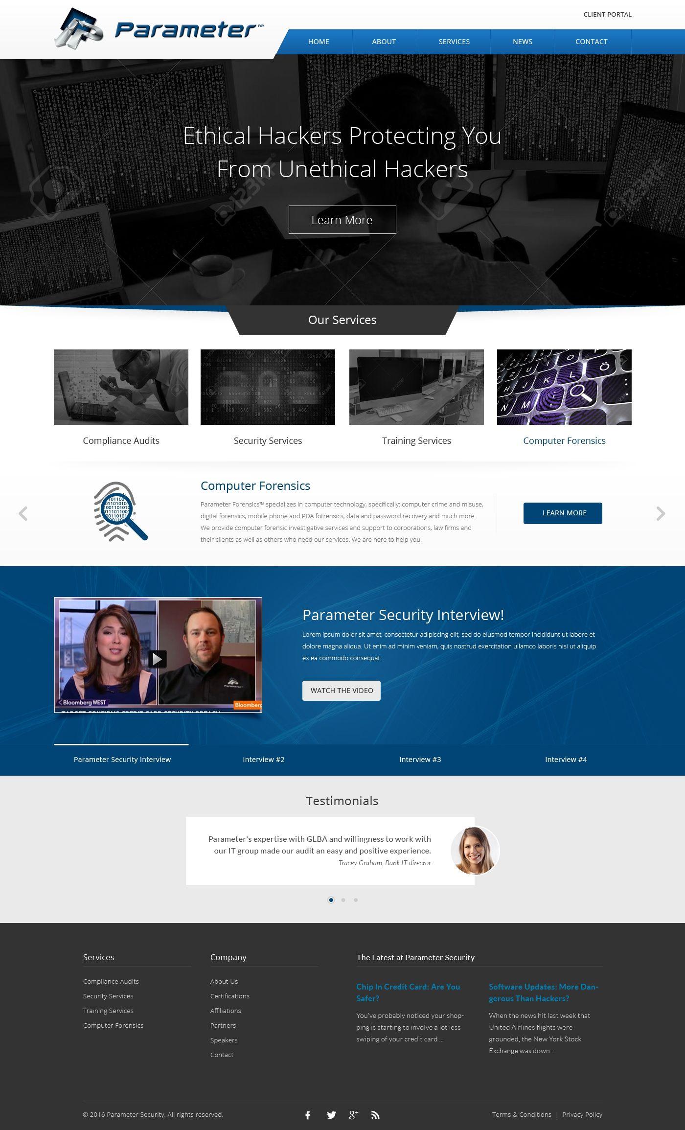 Pin Di Website Design