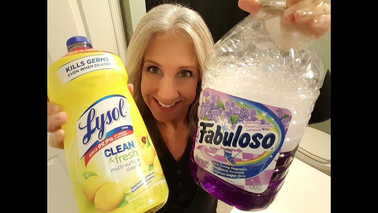 No Scrub Shower For One Month Fabuloso Lemon Lysol Together One Month Use In Shower Youtube In 2020 Lysol Cleaning Products Lysol Scrubbing Bubbles