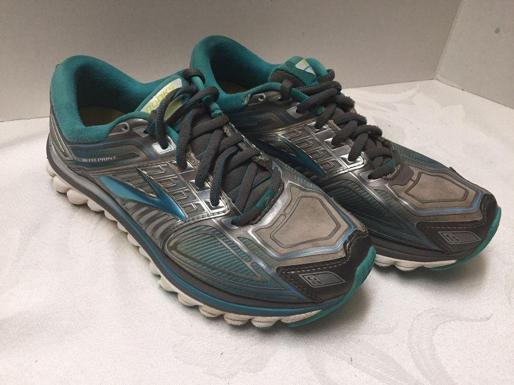 c4cb5f4d3c838 Brooks Glycerin 13 3D Fit Print Womens Running Shoes Size 7M Nice  fashion   clothing  shoes  accessories  womensshoes  athleticshoes  ad (ebay link)