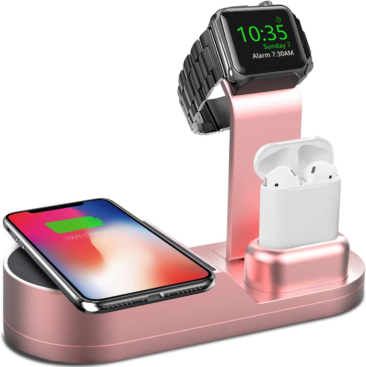 Deszon wireless charger designed for apple watch stand