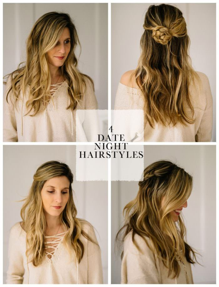 4 Easy Date Night Hair Styles For Busy Moms With Nioxin Ad Night Hairstyles Date Night Hair Easy Hairstyles