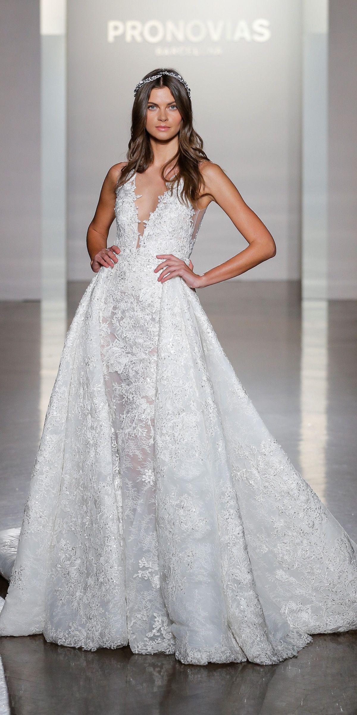 atelier pronovias 2017 alla new york bridal fashion week