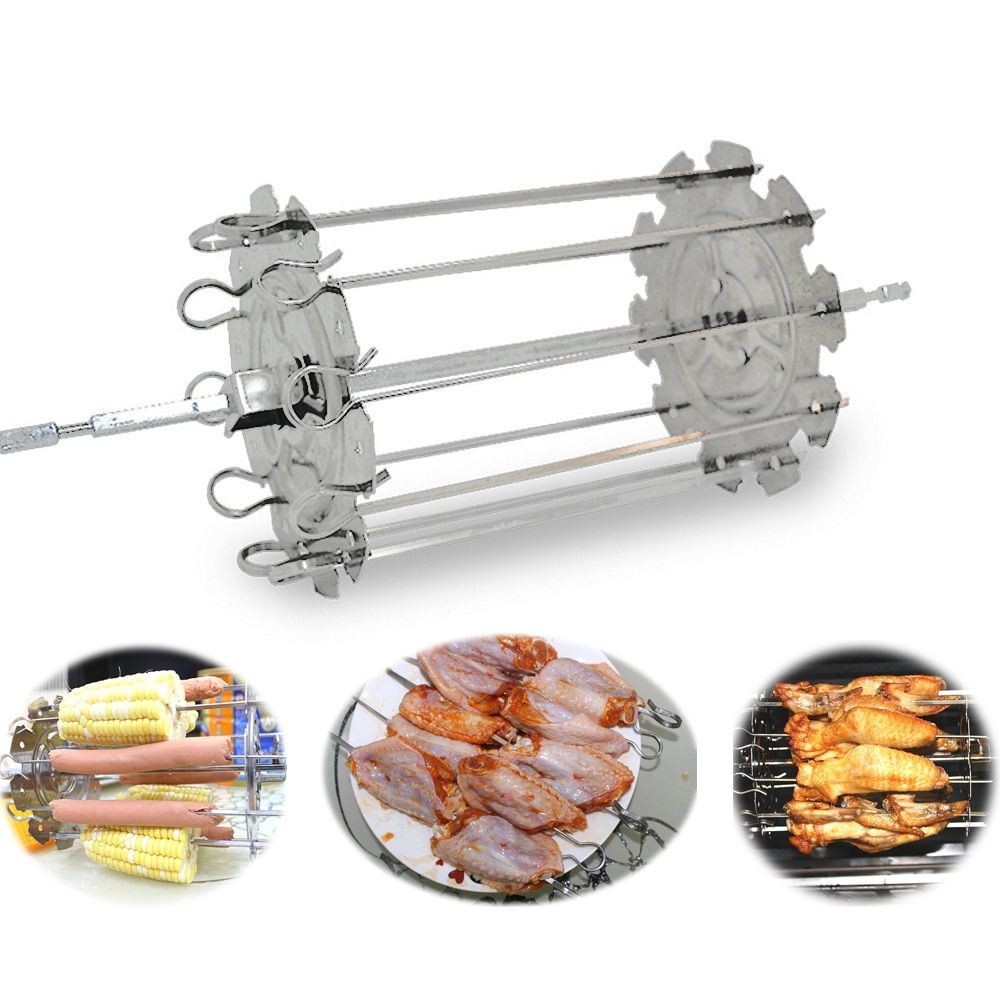 Food grade 304 stainless steel grill roaster drum bbq