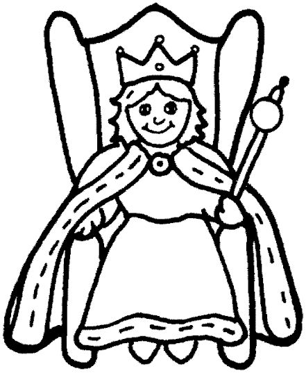 Q Is For Queen Bee Coloring Pages Coloring Pages Elsa Coloring