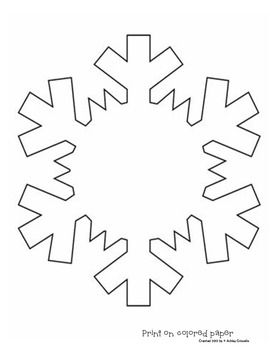 Snowflake Poetry  Classroom    Patterns Applique