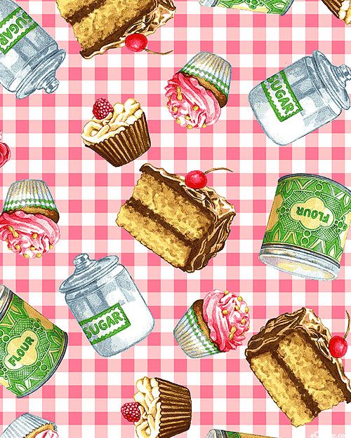 Just Desserts - Cupcake Craze - Retro Pink