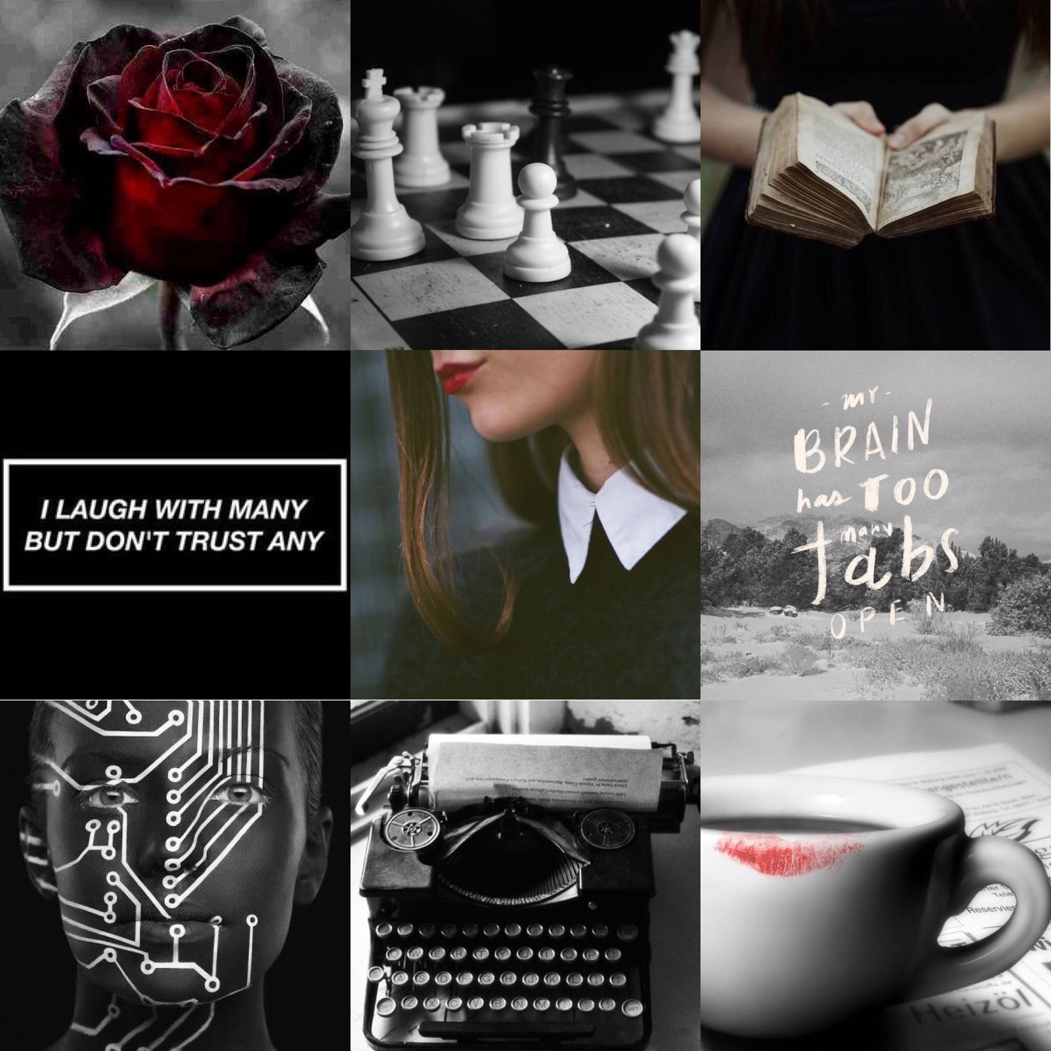 INTJ female aesthetic (created by @emmagc) | •personality