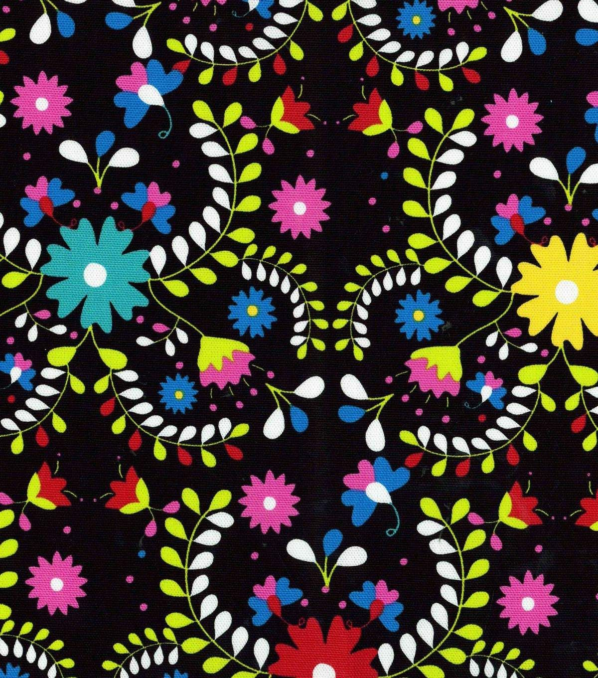 Latin Fabric Scrolling Floral Multi Home Decor Joanns