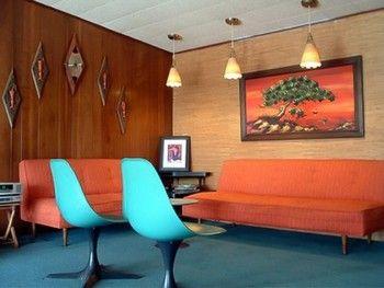 Vintage 50 S Living Room
