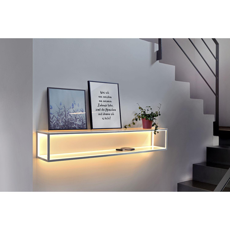 Led Wandregal Delux In 2020 Wandregal Mit Beleuchtung Wandleuchte Lampen Wohnzimmer