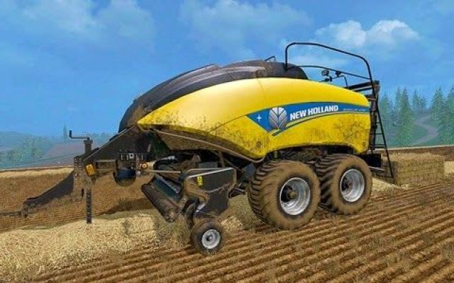 New Holland BigBaler 1290 v 1.0 per Farming simulator 2015