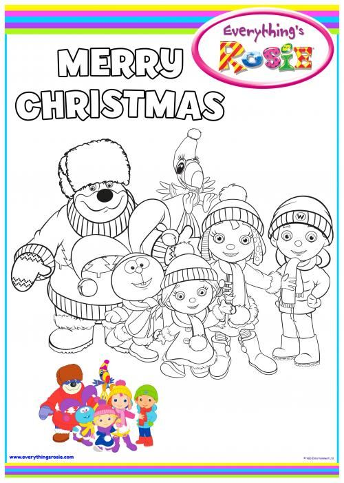 everythings rosie coloring book pages - photo#11