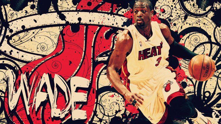 Miami Heat Wallpapers Hd Widescreen5 Dwyane Wade Wallpaper Miami Heat Dwyane Wade