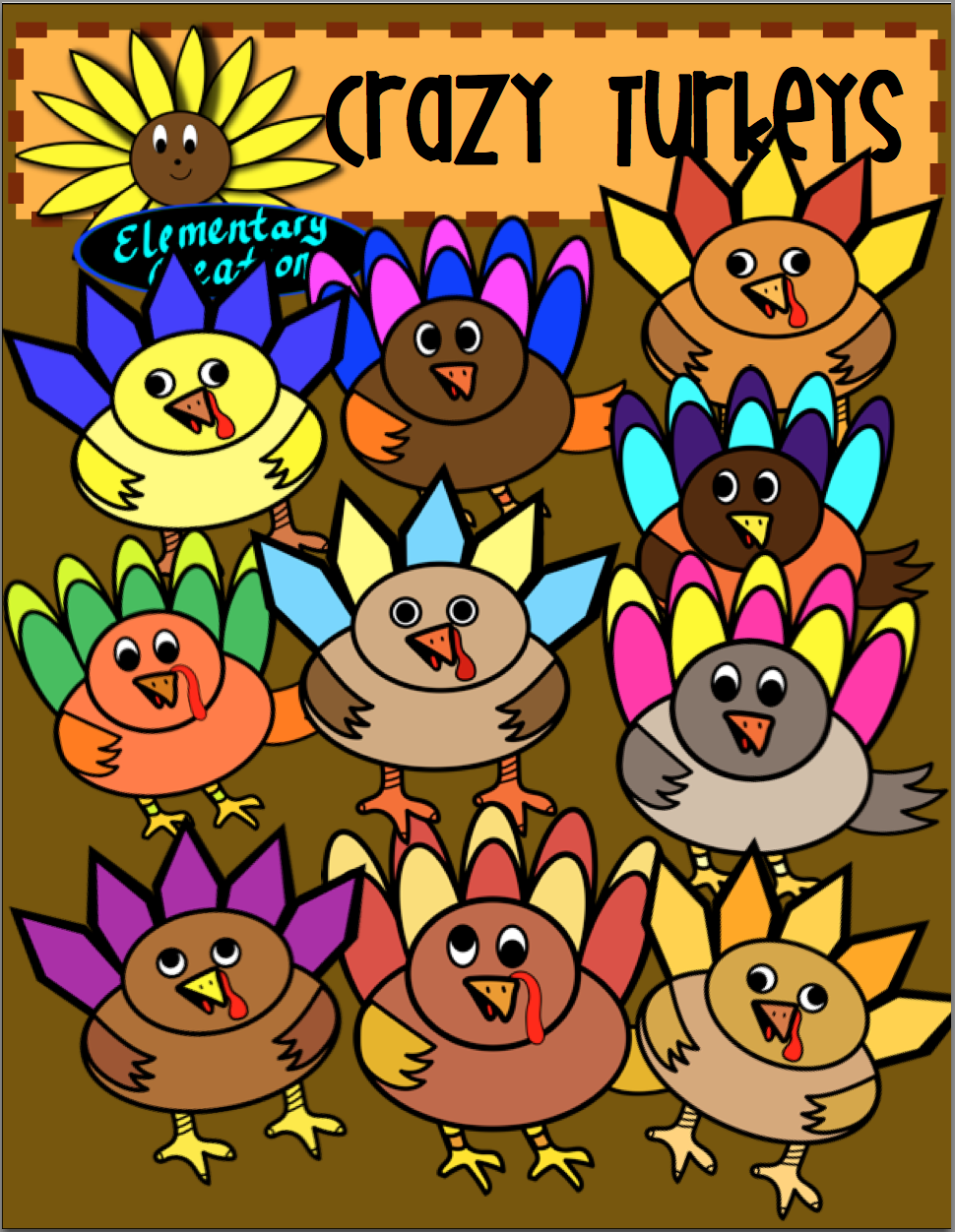 cute turkey clipart for any activity that you are working with the kids will love to color these  [ 970 x 1252 Pixel ]