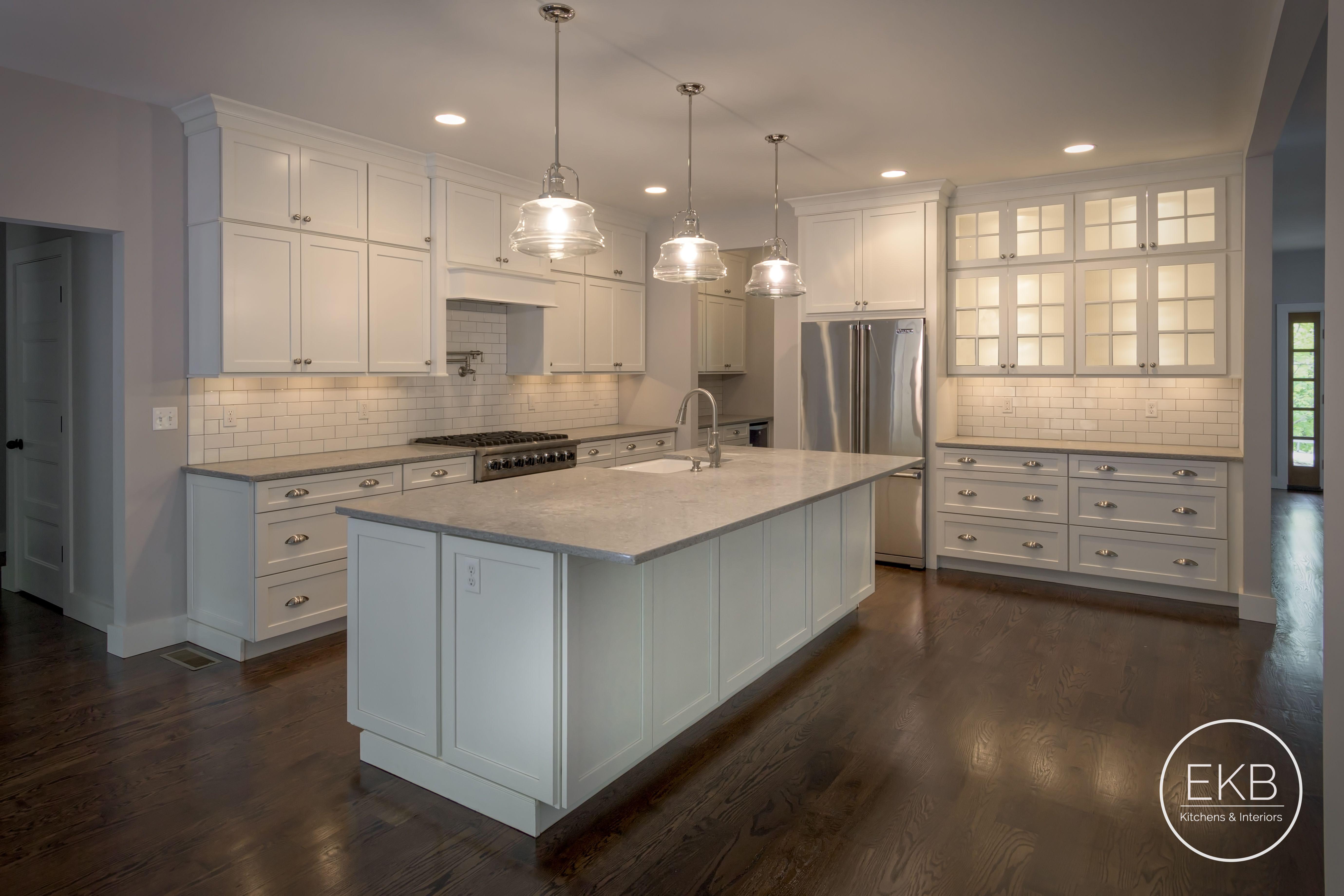Waypoint Linen Kitchen Silestone Countertops Kitchen Renovation