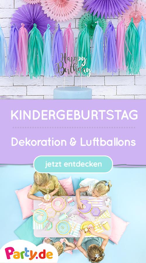 Photo of Kindergeburtstagsfeier – Dekoration, Luftballons etc.
