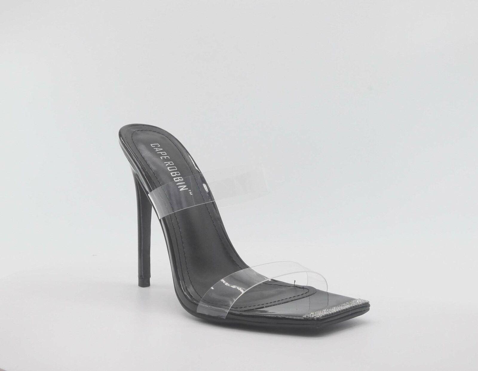 Elegance Cape Robbin Black Dual Clear