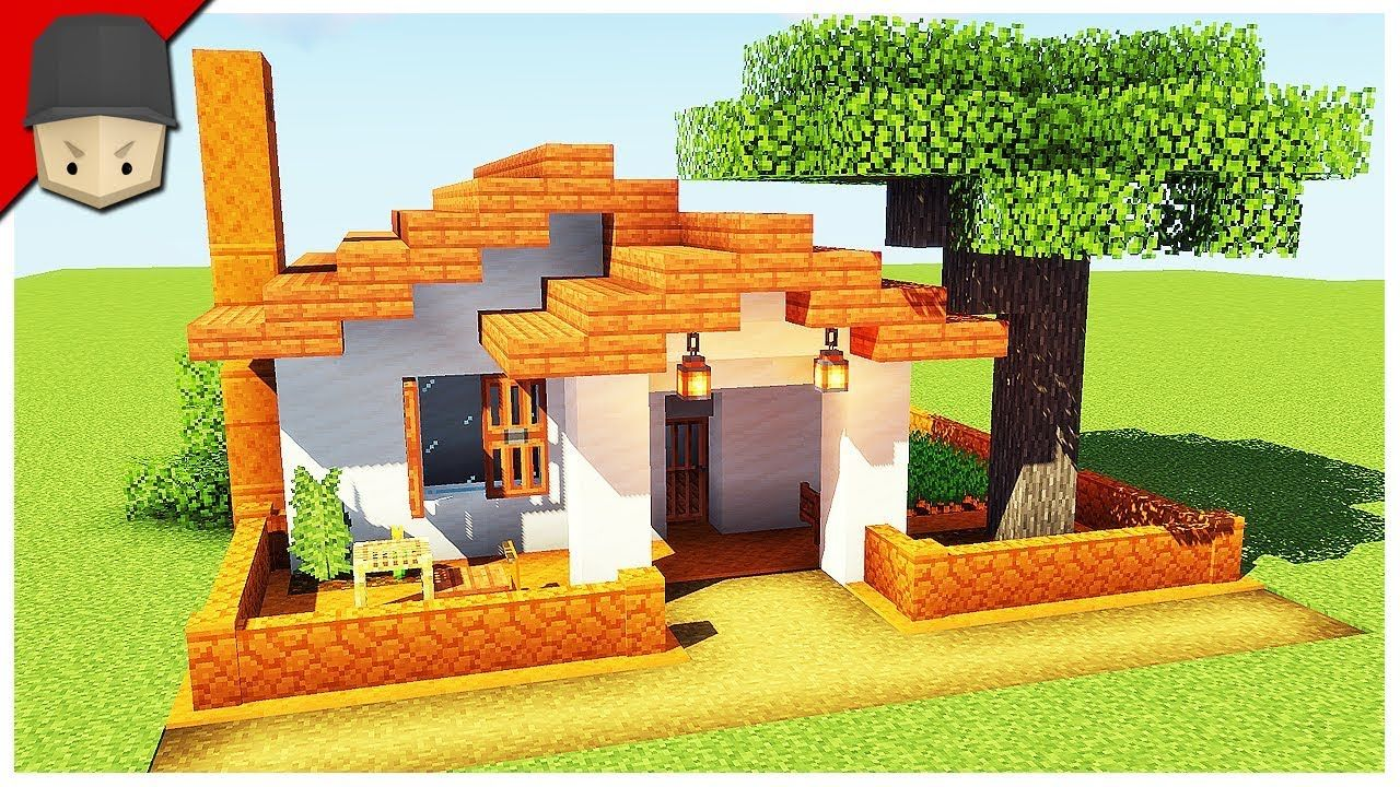 How to Build a Small Simple House in Minecraft Minecraft House Tutorial