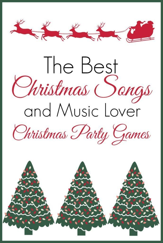 Fun Christmas Party Game Ideas For Adults Part - 33: Love This List Of The Best Christmas Songs And The Fun Christmas Party Games  You Can