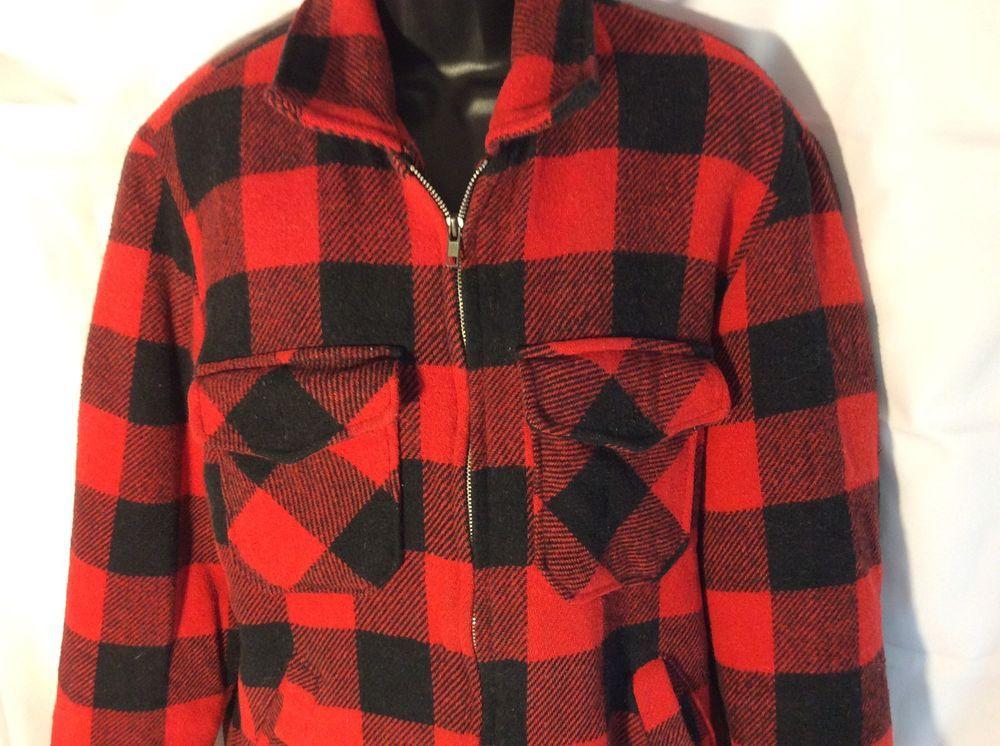 e2f92e7a9ee58 Details about Vintage Pendleton Plaid Jacket Blazer Medium Men's 100 ...