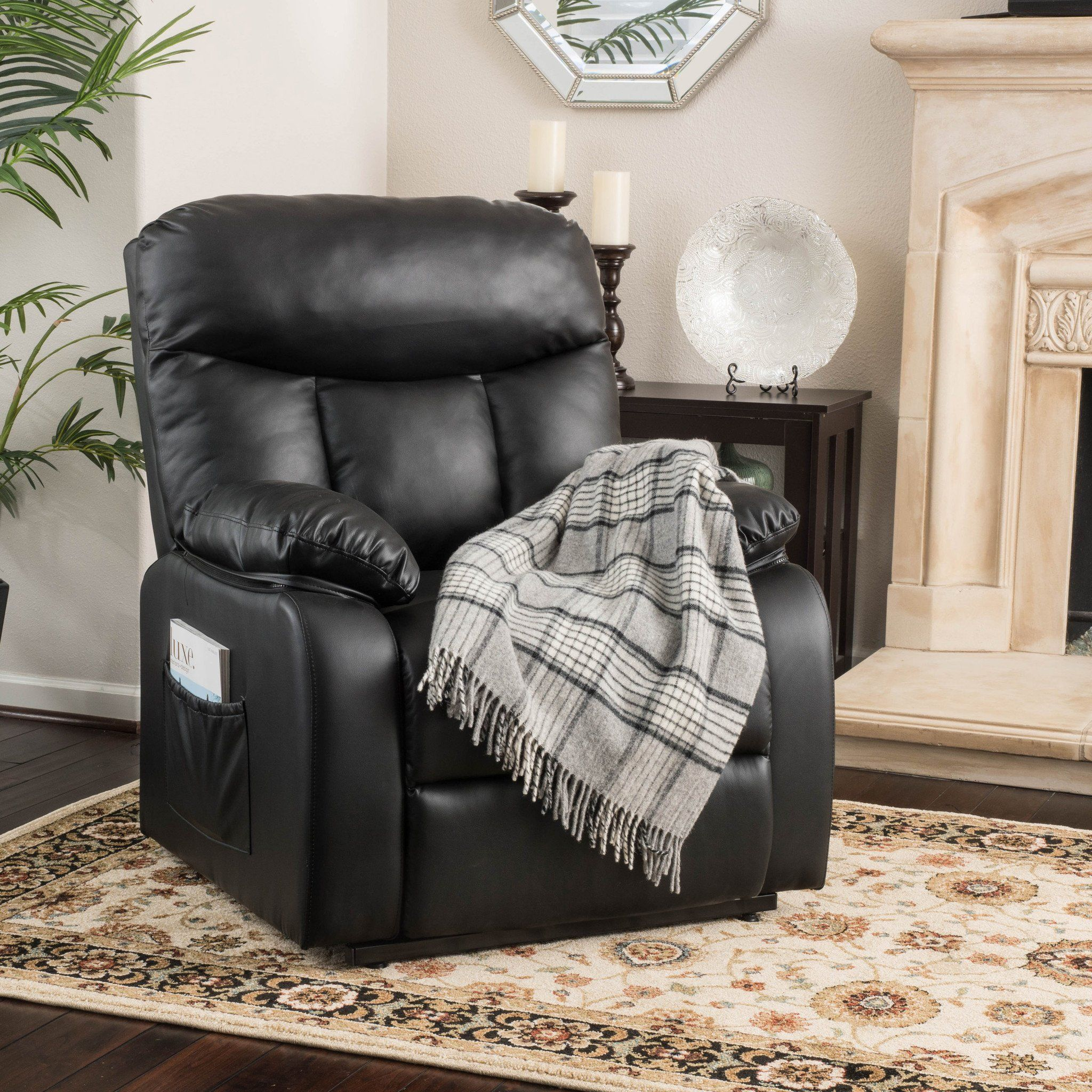Ordinaire Edenton Leather Lift Up Recliner Chair
