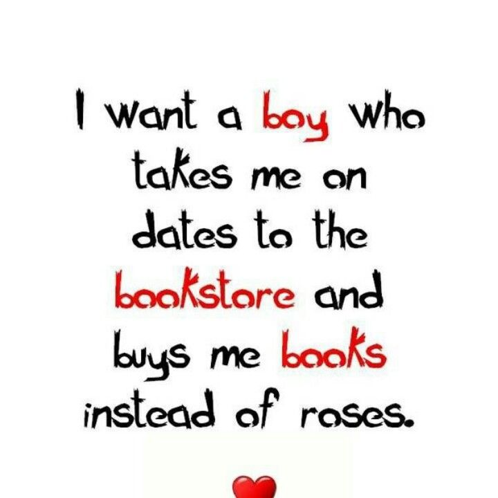 No roses. Just books please.