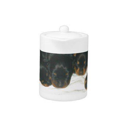 #Rottweiler Puppies Teapot - #rottweiler #puppy #rottweilers #dog #dogs #pet #pets #cute