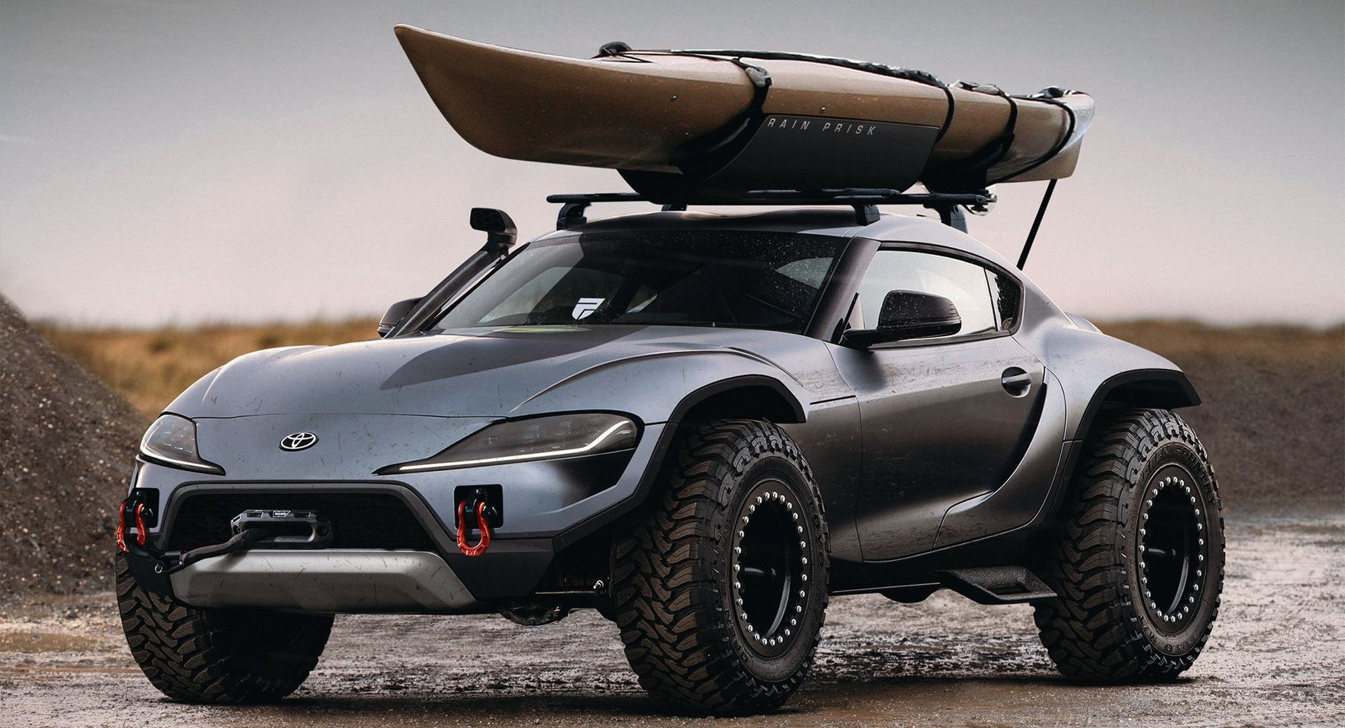 Lifted Toyota Supra Could Be The Ultimate Off Roader Toyota Supra Dune Buggy Offroad Vehicles