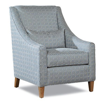 Huntington House 7335 50 Chair Shown In A Crypton Home Geometric Fabric