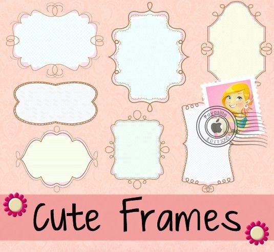 cute frames by payasiitadeviantartcom