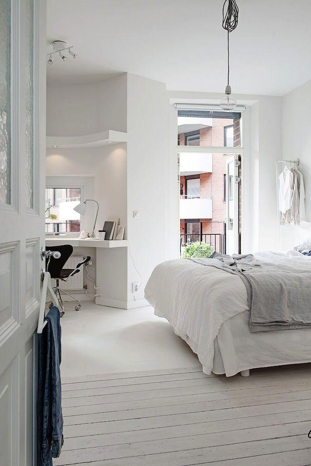 Un intérieur blanc : calme et lumière | Pinterest | Intérieurs ...