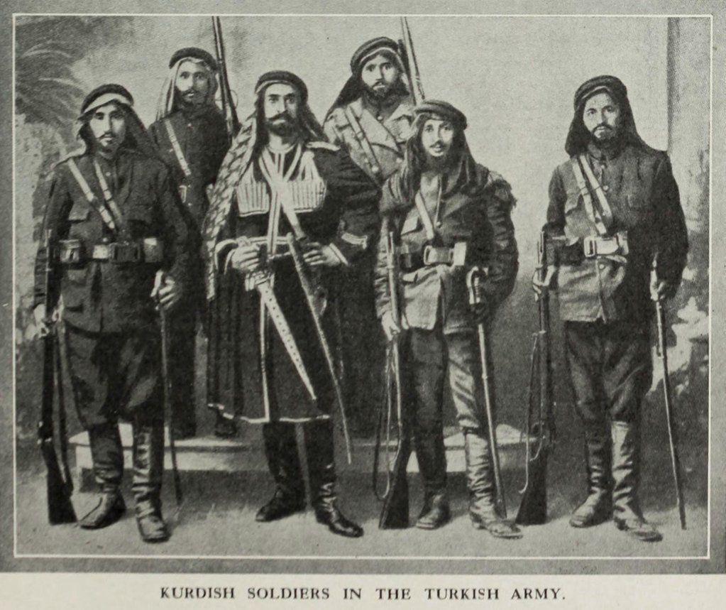 Pin By Yasa Hasanpour On History Of Kurdestan: Kurdish Soldiers In The Ottoman Army, 1890s (Osmanlı