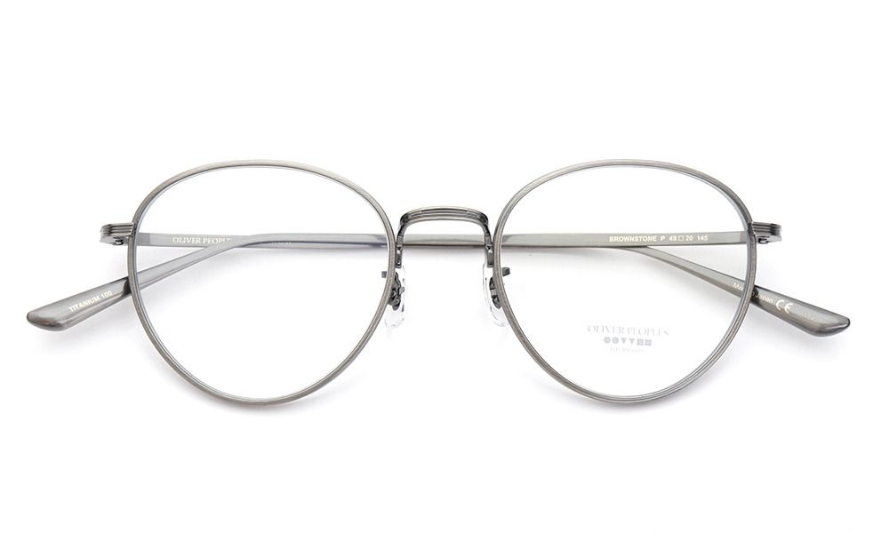 OLIVER PEOPLES × THE ROW メガネ BROWNSTONE col.P 49size | Glasses ...
