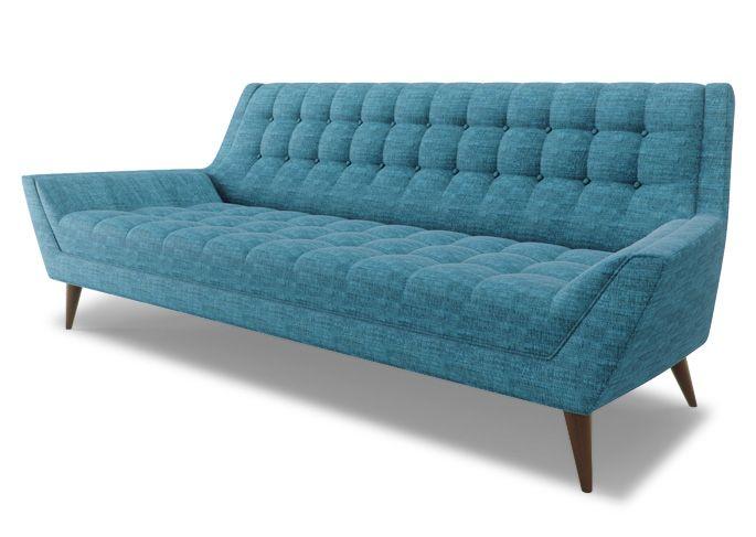 Mid Century Modern Sofa Cleveland, Vintage Modern Furniture Cleveland
