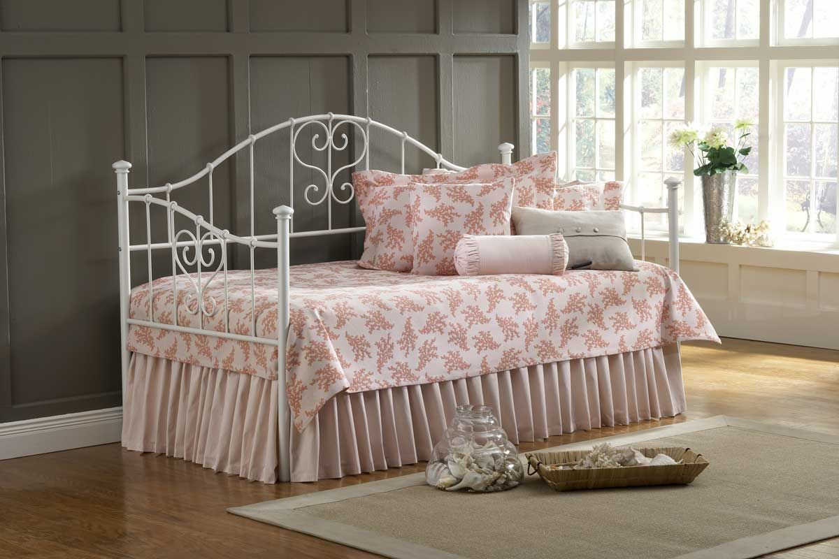 Hillsdale Lucy Daybed Price 379 00 Hillsdale Furniture Bed Frame And Headboard Metal Daybed