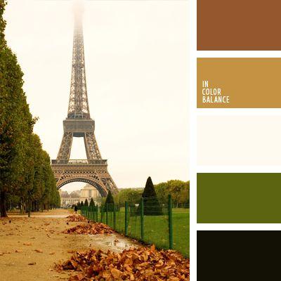 blanco y marrón, blanco y verde, color verde hierba, elección del color, marrón rojizo, selección de colores para hacer una reforma, tonos marrones, tonos verdes, verde oliva oscuro, verde oscuro, verde y marrón.